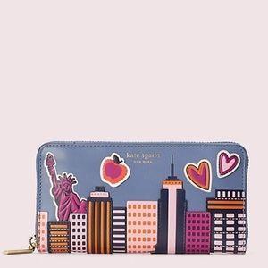 Kate Spade NYC Skyline Large Wallet